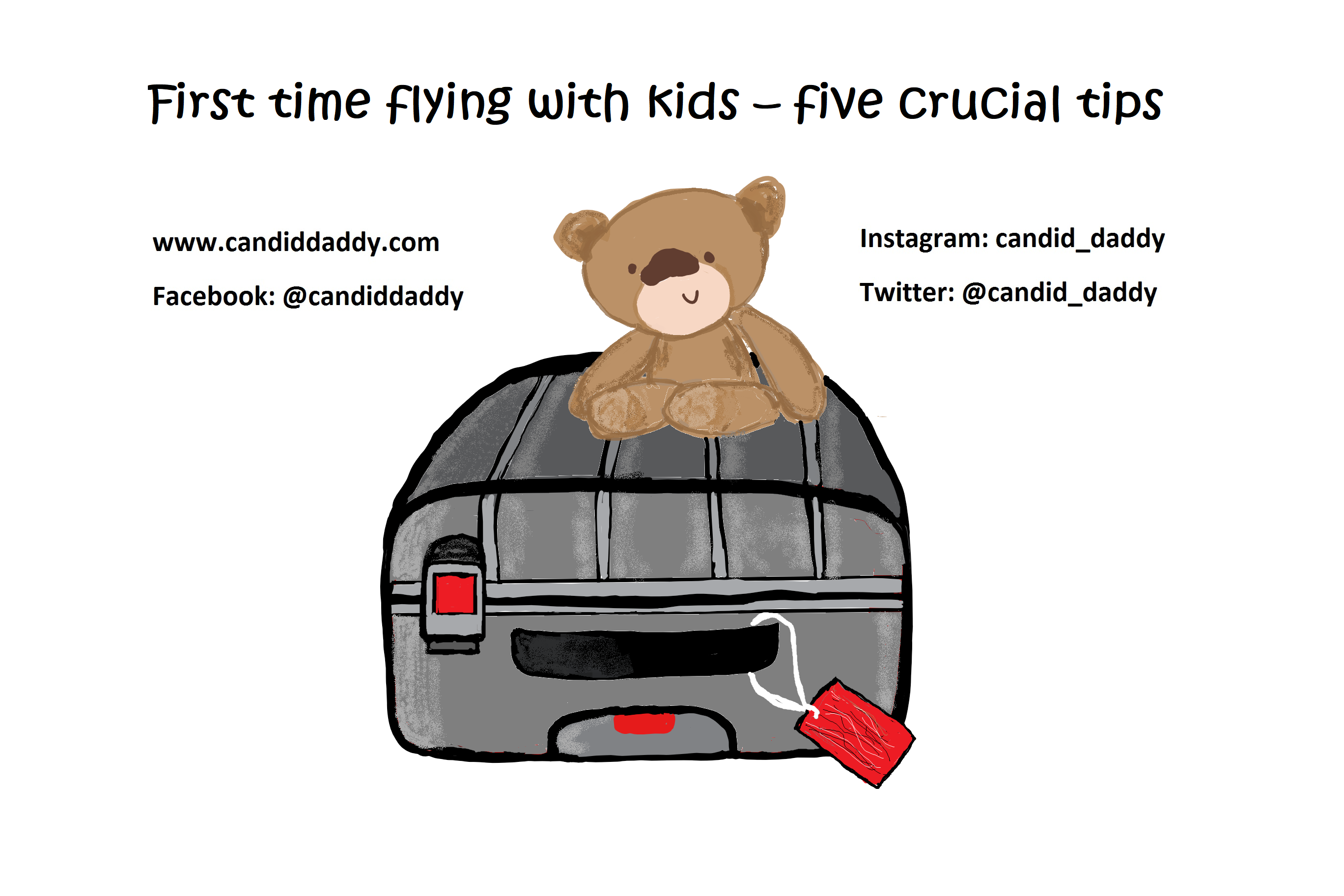 NEW BLOG: First time flying with kid
