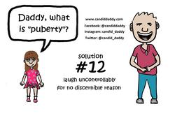 Candid Daddy - awkward question 12