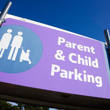 Candid News: People without children who park in parent and child bays have IQ and moral outlook equ
