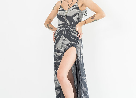B&W Starburst - Classic Low Back Dress