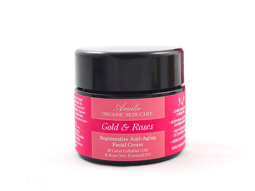 Gold & Roses - Anti Aging Face Cream