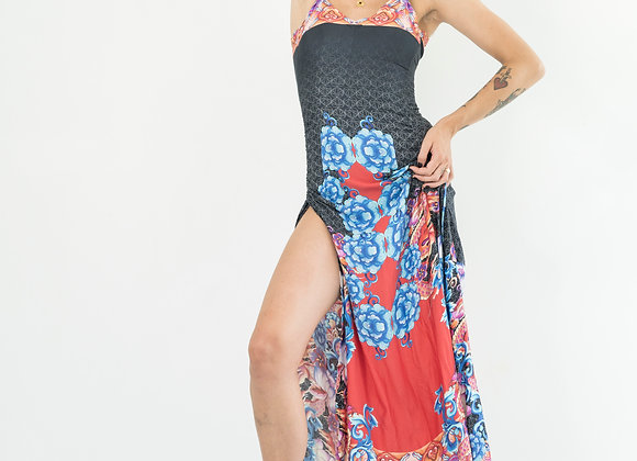 Chinese Dragon - Classic Low Back Dress