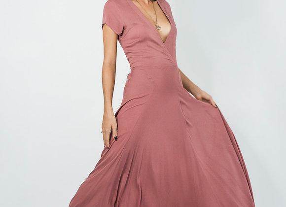 Bias Spin Dress