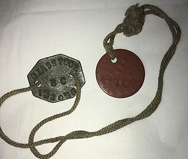 "RAF WWII ""dog tags"" Jim Glasspool's"