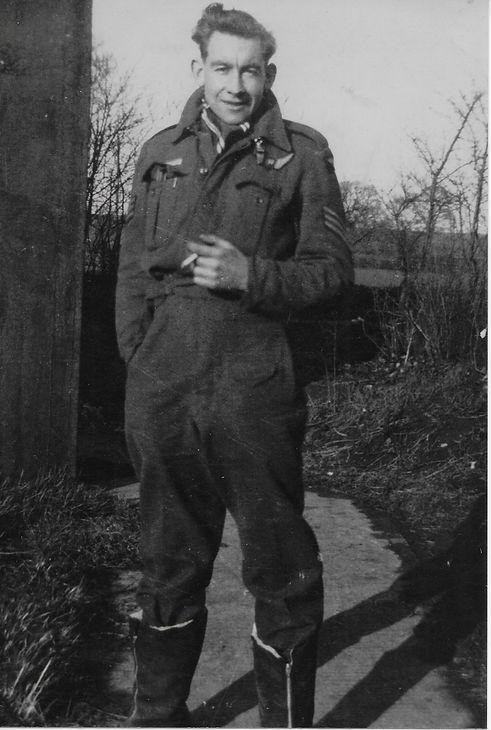 Jim Glasspool, RAF Navigator, Lanncaster Bombers, Training in Canada