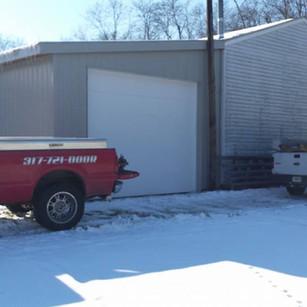 Rain or Snow Garage Door Installation