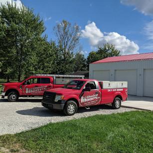 Garage Door Service Trucks Greencastle