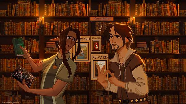 biblioteksreklame by annoyingsoulg.jpg