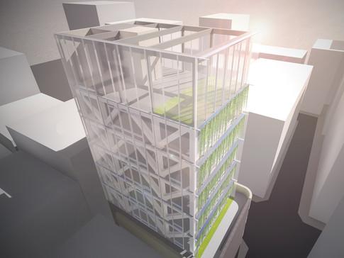 초양빌딩 증축공사