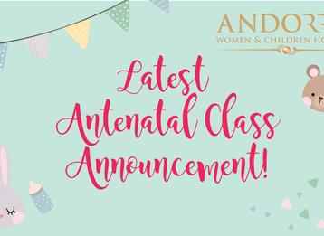 ANDORRA September Antenatal Class Registration Closed!