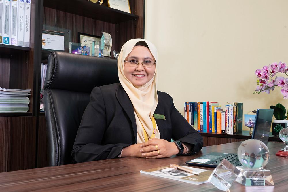 Puan Aspalela Ramly, Chief Executive Officer of ANDORRA Women & Children Hospital (BWFW Medic Sdn Bhd)