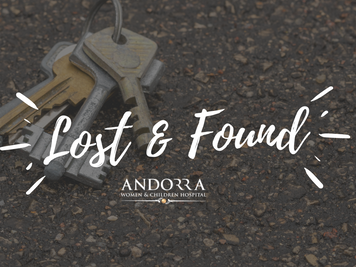 Lost valuable items? | Lost & Found