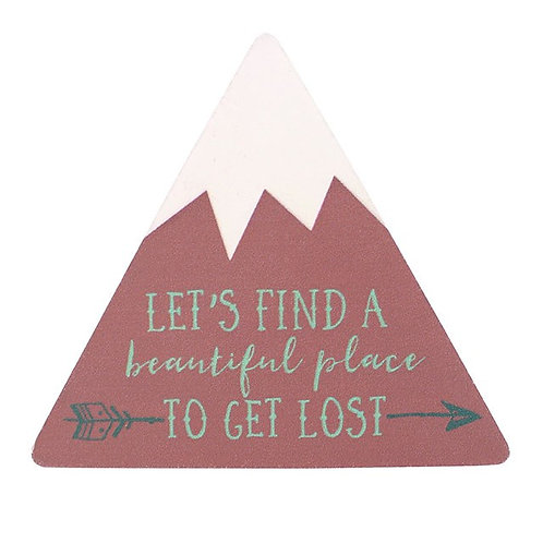 Set of 6 Boho Travel Adventure Magnets