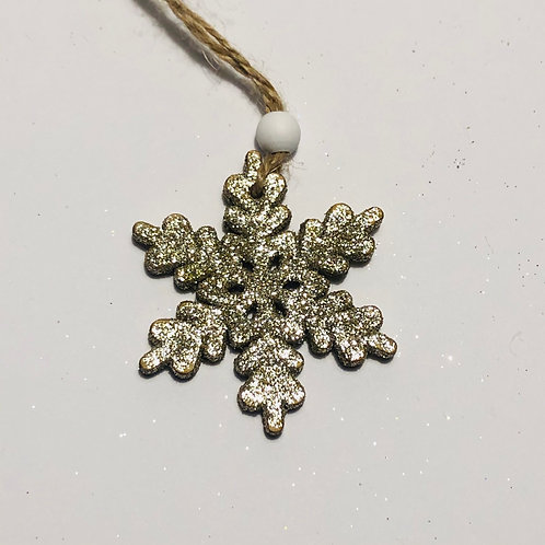 Super Glittery Snowflakes Gift-set of 3