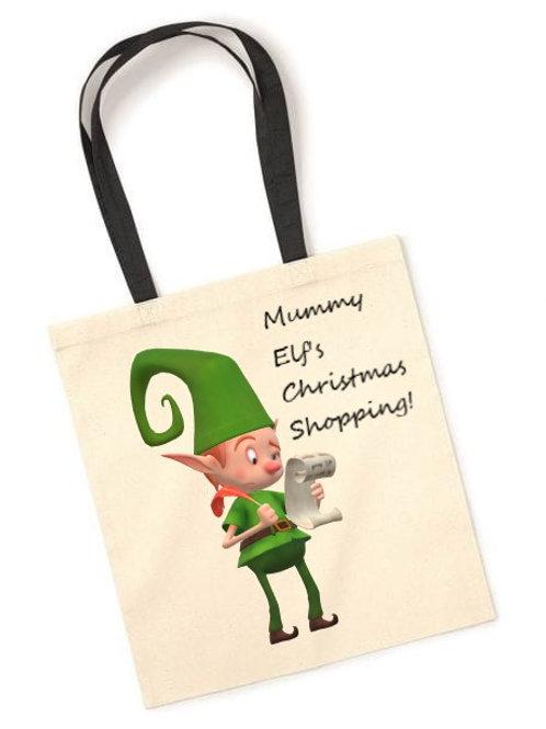 Mummy Elf's Shopping Bag