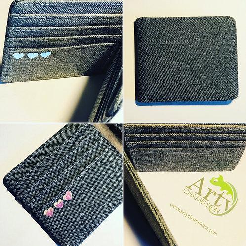 Card Wallet - Charcoal grey