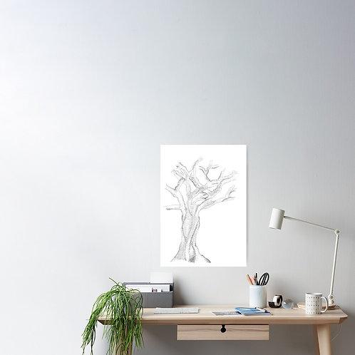 Family Tree Artwork. Dotty Tree.