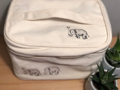 Elephant & Balloons Make-Up // Washbag