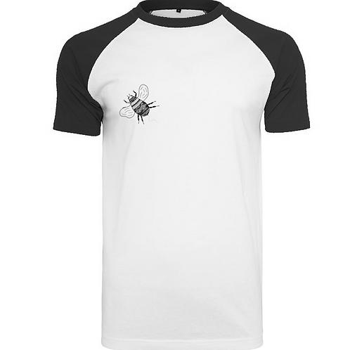 Adult Bee Tee in Black & White