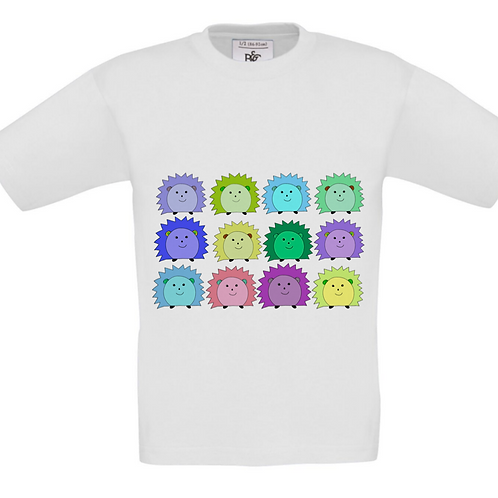 Hedgehog T-shirt & matching accessories available