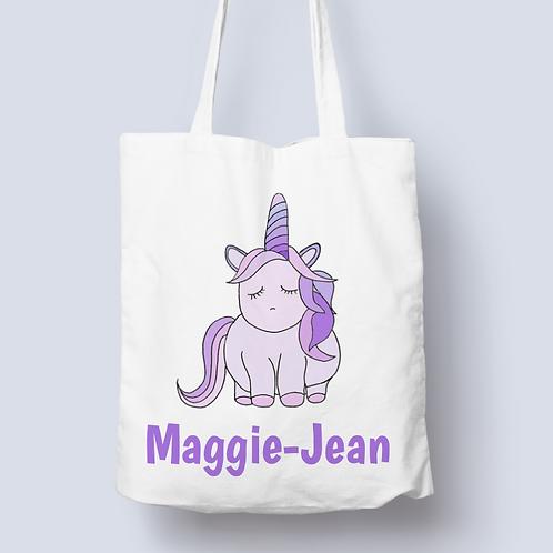 Lavender the Unicorn Tote