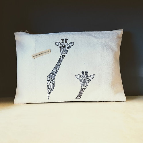 Giraffe Pencil Cases/ Zipper Bag