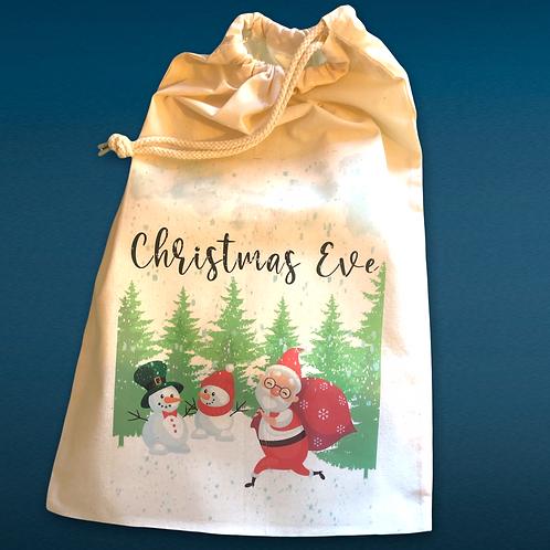 Personalised Christmas Eve Bag