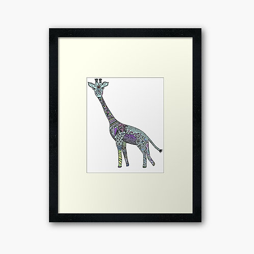 Tattooed Giraffe