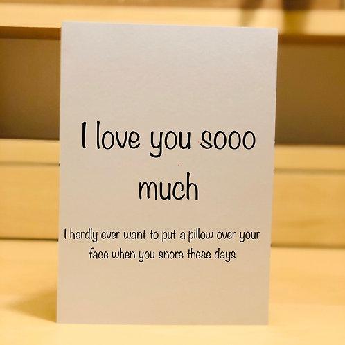 I love you sooo much...