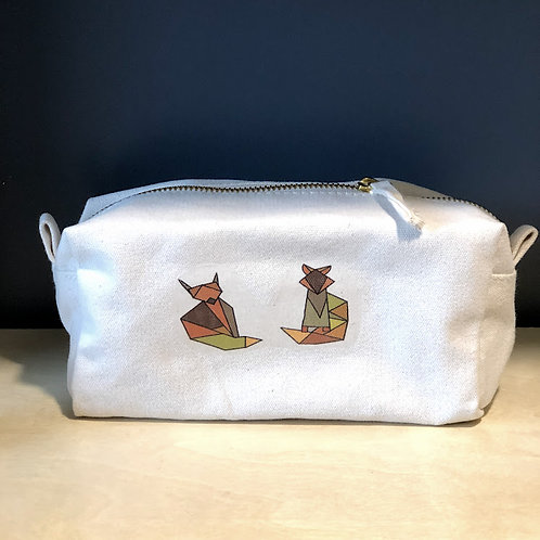 Foxy pencil case or make-up bag