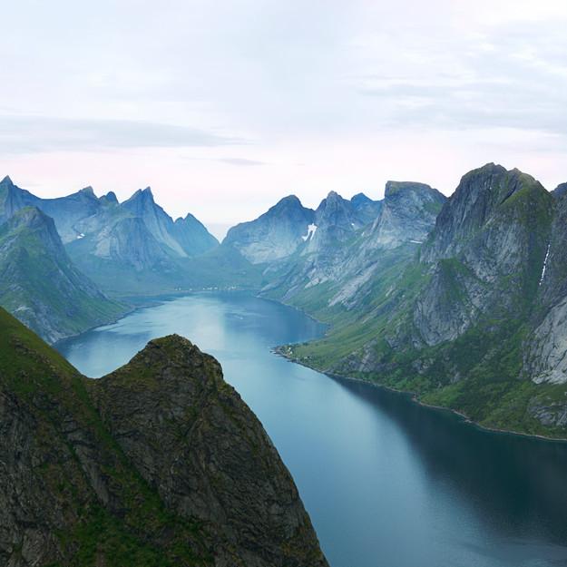 Jagged Peaks of Lofoten