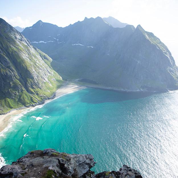 The serenity of Kvalvika  