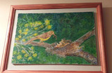 Pintura realizada por Irma Panero