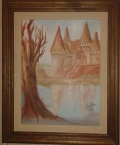 Pintura realizada por Stella Maris Fortunato
