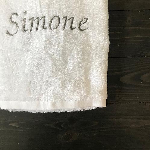 Telo doccia Personalizzabile bianco