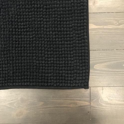 Tappeto bagno nero