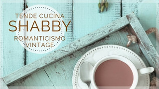 Tende shabby chic cucina: romanticismo vintage