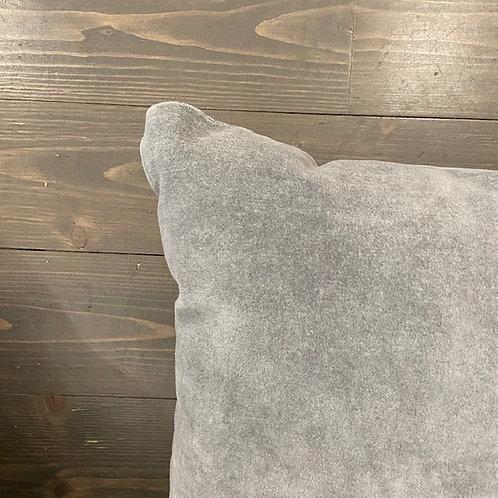 Cuscino double grigio