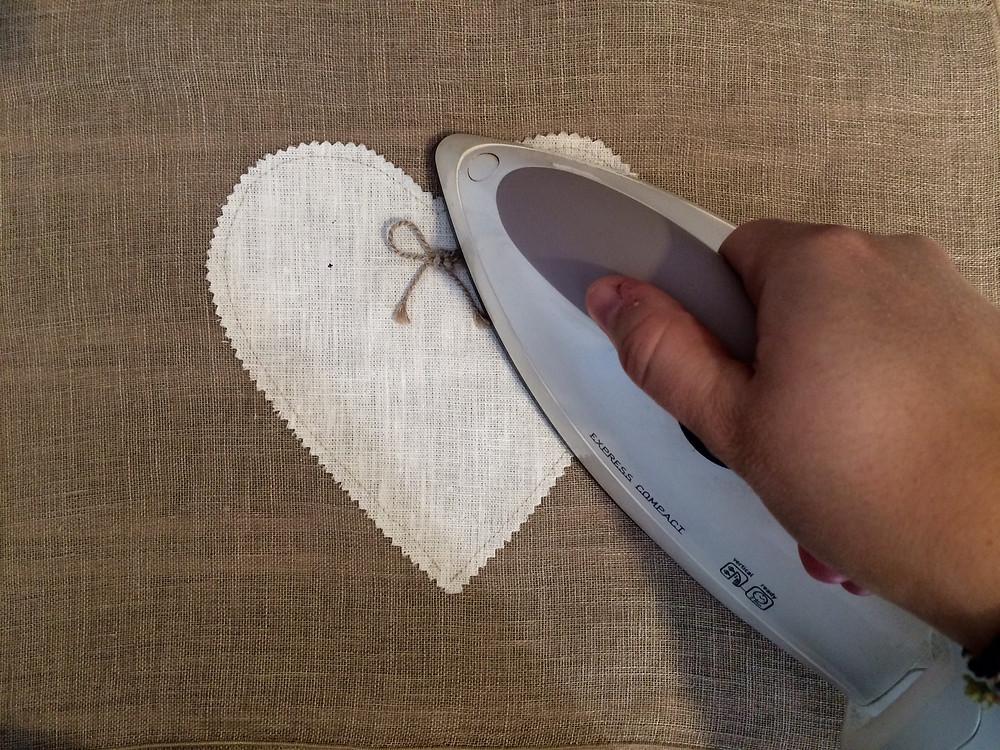 come stirare le tende di lino