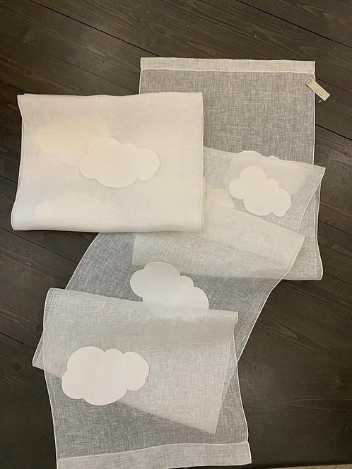 Coppia di tende nuvola