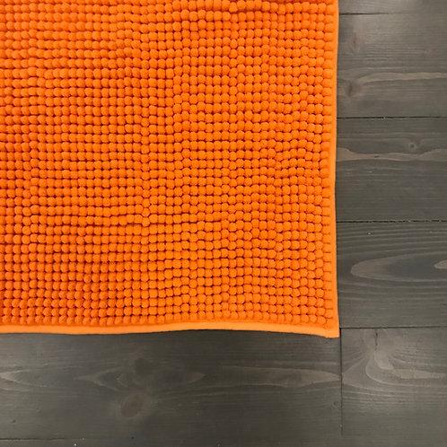 Tappeto bagno arancione
