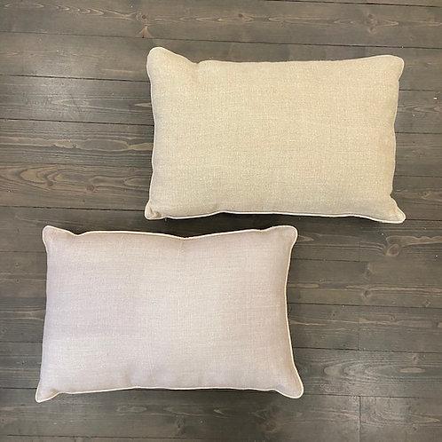 Cuscino double lino
