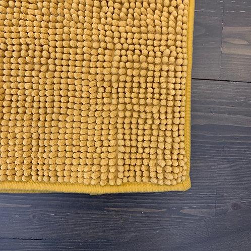 Tappeto bagno senape