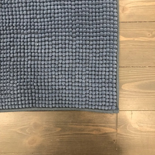 Tappeto bagno blu