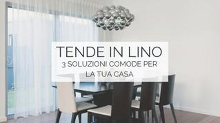 Tende lino: 3 soluzioni comode per la tua casa