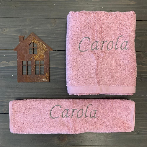 Set di spugne personalizzabili rosa antico