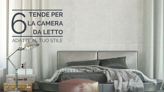 6 tende camera da letto adatte al tuo stile