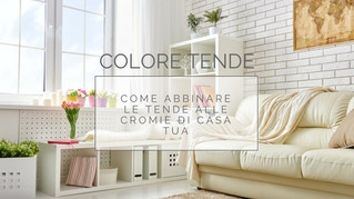 Colore tende: come abbinare le tende alle cromie di casa tua