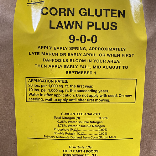 Corn Gluten Lawn Plus (9-0-0)