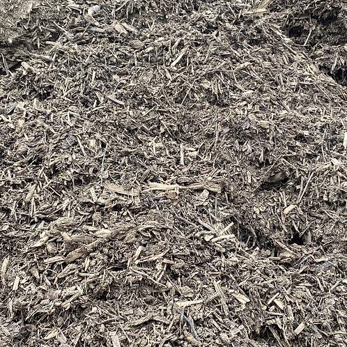 Double Shredded Mulch: Mocha Brown - $24/cu yd